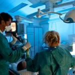 Bronchoskopie.